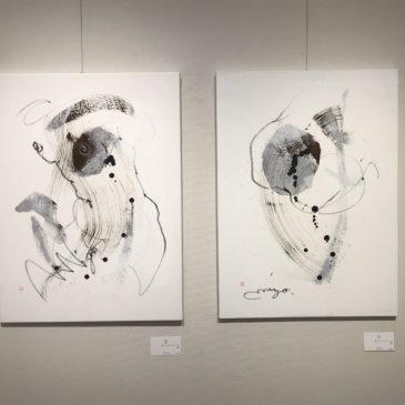 2018年10月23日(火)~28日(日) 溝川典子展‐ラフノキセキⅩ‐