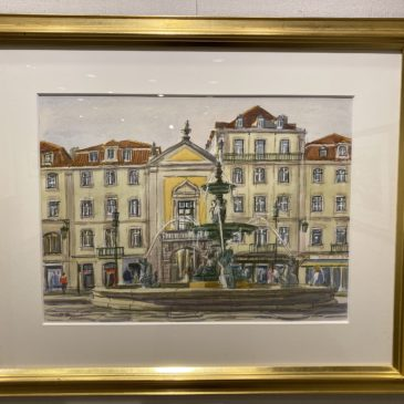 2019年10月22日~27日 小川英紀 第11回 ヨーロッパ風景画展